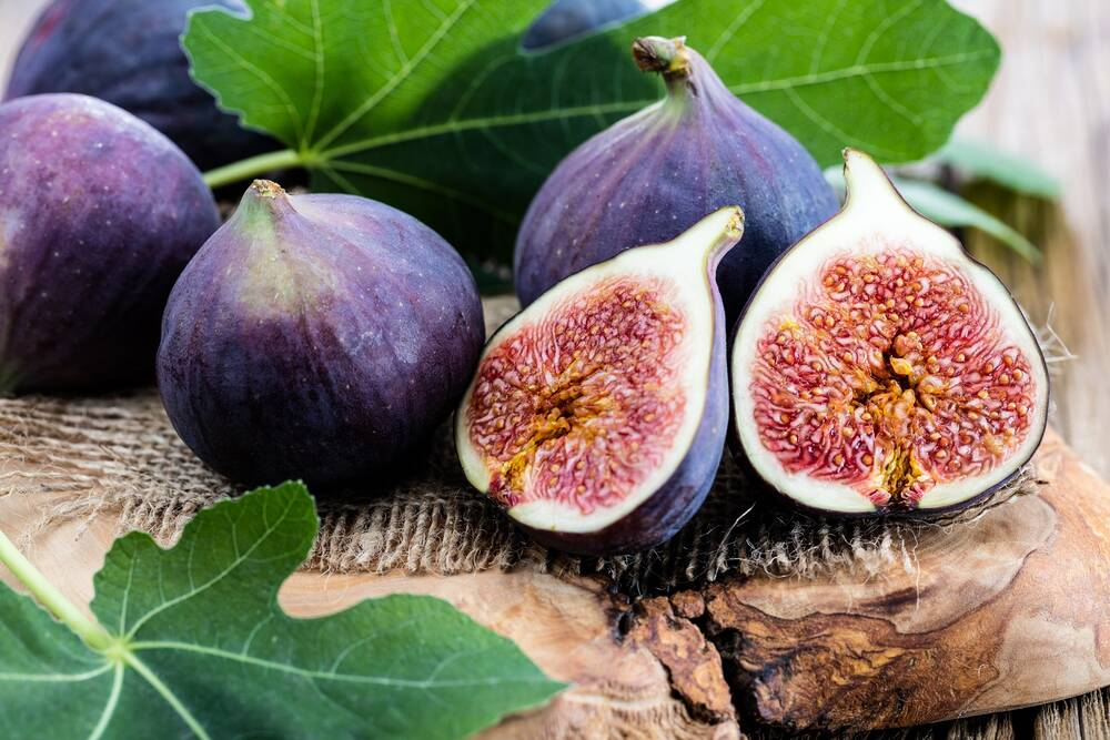 Fig The fig itself is, strictly speaking, not a real fruit. The actual fruits are the small yellow...
